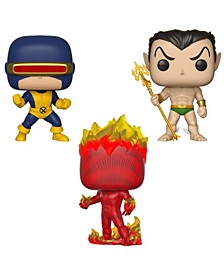 Pop Marvel First Appearance Collectors Set 1 - Cyclops, Namor, Human torch