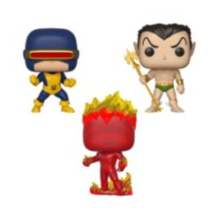 Funko Pop Marvel First Appearance Collectors Set 1 - Cyclops, Namor, Human torch