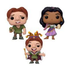 Funko Pop Disneyhunchback Of Notre Dame Collectors Set - Quasimodo, Quasimodo Fool, Esmeralda