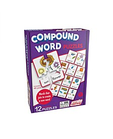 Compound Word Learning Educational Puzzles