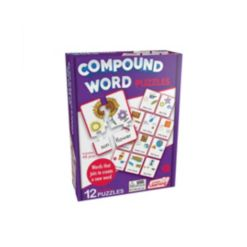 Junior Learning Compound Word Learning Educational Puzzles