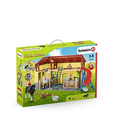 Farm World, Horse Stable Toy Playset