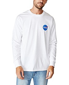Men's Nasa Long Sleeve T-Shirt