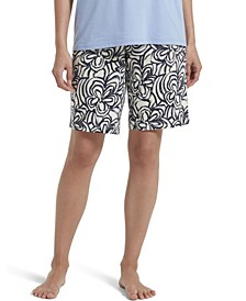 Women's Blooms Bermuda Pajama Shorts