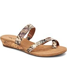Yolaa Wedge Sandals, Created for Macy's