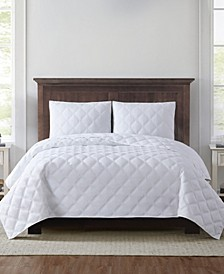 Everyday 3D Puff King Quilt Set