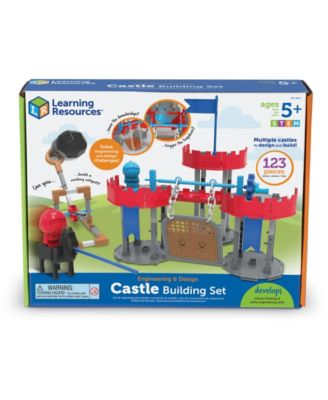Learning Resources Engineering Design - Castle Building Set