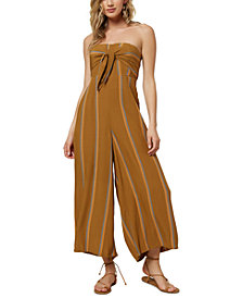 O'Neill Juniors' Lahaloo Strapless Jumpsuit
