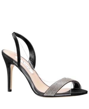 Nina Cailida High Heel Slingback Sandal Women s Shoes E579