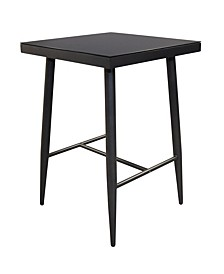 "Braxtyn Outdoor Bar 28"" Square Table, Created for Macy's"