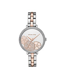 Women's Charley Three-Hand Two-Tone Stainless Steel Watch 39mm