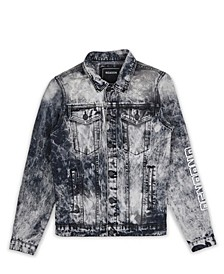 Men's Rose Denim Jacket