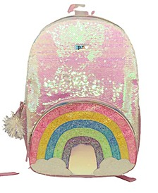Magic Sequins Pink Backpack
