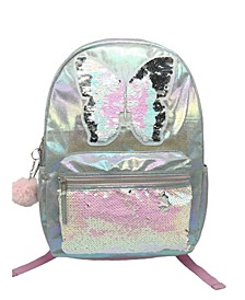 Oil Slick with Large Butterfly Backpack