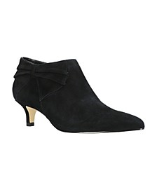 Frances Kitten Heel Booties