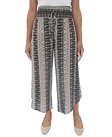 Be Bop Juniors' Printed Cropped Soft Pants