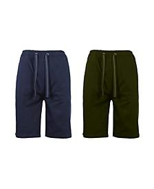 Men's 2-Packs Cotton Stretch Twill Jogger Shorts