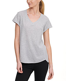 Calvin Klein Performance Rolled-Cuff T-Shirt