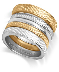 Two-Tone 5-Pc. Set Stacking Rings