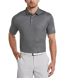 Men's Big & Tall Mini-Gingham Golf Polo