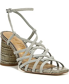 Daffodil Woven City Sandals