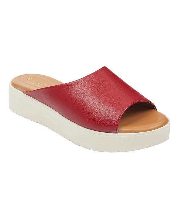 Easy Spirit Women's Evolve Flora Flat Sandal