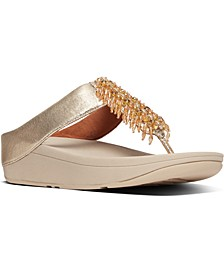 Women's Velma Beaded Toe-Thongs Sandal
