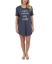 Sleep Under The Stars Sleepshirt Nightgown, Online Only