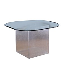 Valerie Dining Table with Surfboard Glass Top