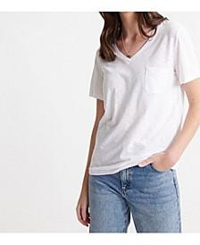 Organic Cotton Essential V-Neck T-shirt