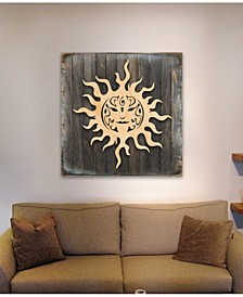 Celtic Sun Charm Wood Box Sig