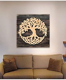 Tree of Life Wood Block Celt