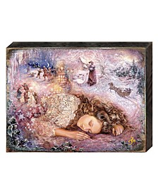 Winter Dream Wall Wooden Decor by Josephine Wall