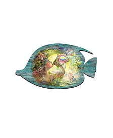 Call of The Sea Wall Decor and Over The Door Wooden Hanger by Josephine Wall