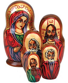 Angel 5 Piece Russian Matryoshka Stacking Dolls Set
