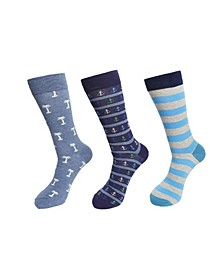3-Pack Anchor Socks