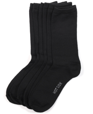 Hot Sox Women's Comfort Solid Trouser 3 Pack Socks plus size,  plus size fashion plus size appare