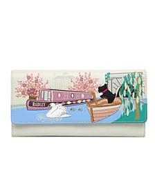 Little Venice Flapover Matinee Wallet