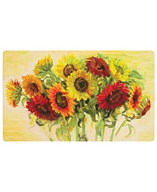 "Comfort Gathering 1' 6"" L X 2' 6"" W Kitchen Mat"