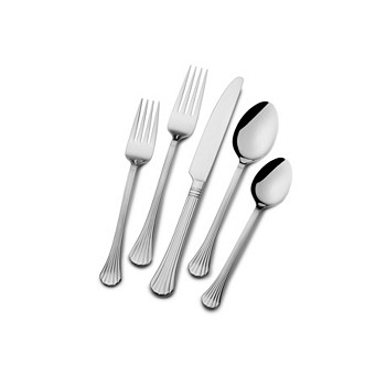International Silver Cascade 51 Piece Flatware Set