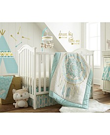 Baby Little Feather Crib Bedding Set of 5