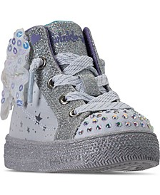 Toddler Girls Twinkle Toes Shuffle Brights High Top Fashion Casual Sneakers from Finish Line