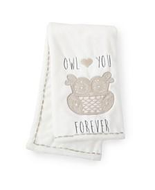 Baby Night Owl Crib Blanket