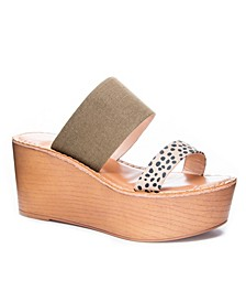 Wind Women's Wedge Sandals