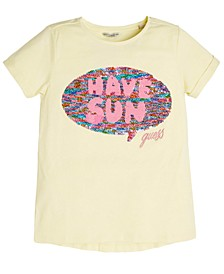 Big Girls Reversible Sequin Love Shirt
