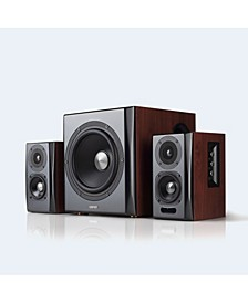 S350DB Bluetooth Bookshelf Speakers with Subwoofer