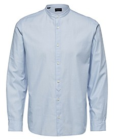 Men's Solid Long Sleeve Shirt
