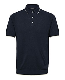 Men's Knitted Polo Shirt