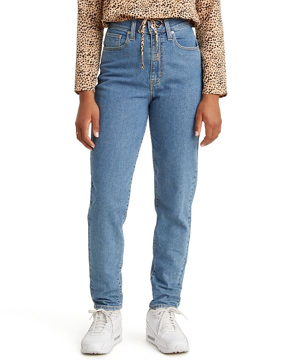 Levi's High-Rise Tapered Ankle Jeans