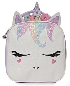 Girls Flower Crown Sugar Glitter Miss Gwen Unicorn Lunch Bag